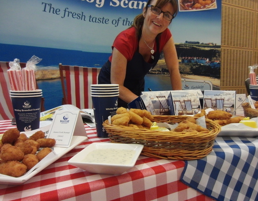 Whitby Foods - one of over 70 suppliers at the Extravaganza