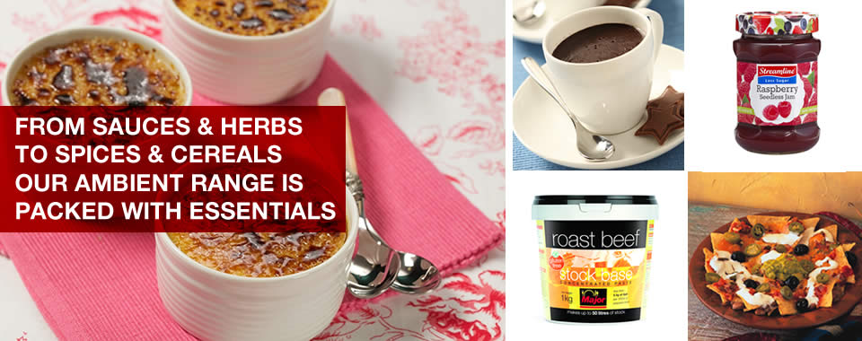 mkg foods ambient food range