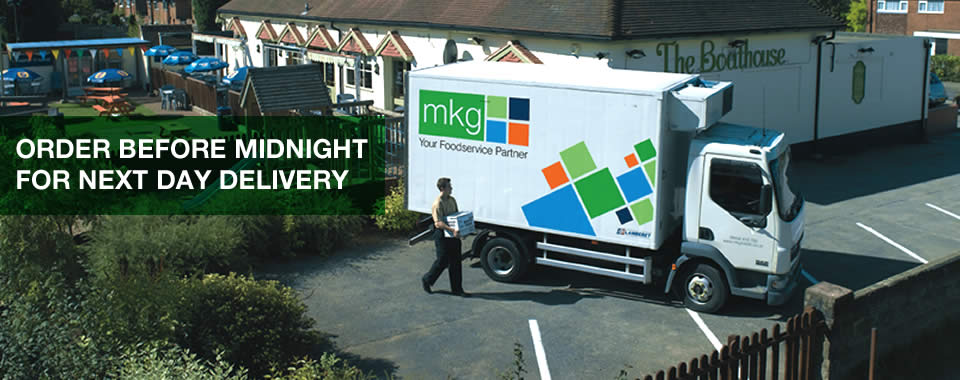 MKG Foods - next day delivery