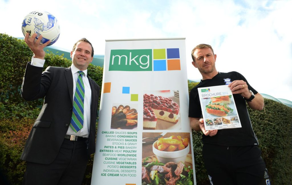 MKG Official Suppliers to Brimingham City Football Club