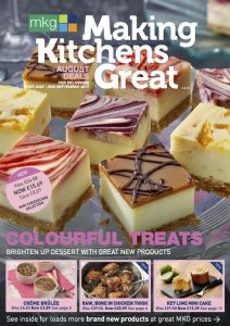 MKG Making Kitchens Great - August 2017 promotional leaflet cover