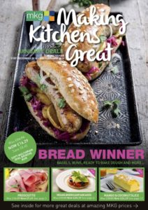 MKG Making Kitchens Great promotional leaflet for January 2019. Check out the latest foodservice deals in the Midlands.