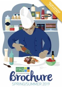 MKG Foods Spring Summer 2019 Brochure Cover graphic