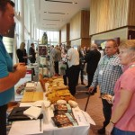 Chatting with suppliers at MKG Extravaganza 2013