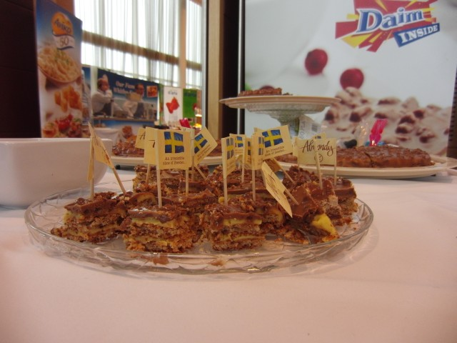 Daim food display at MKG Extravaganza 2013