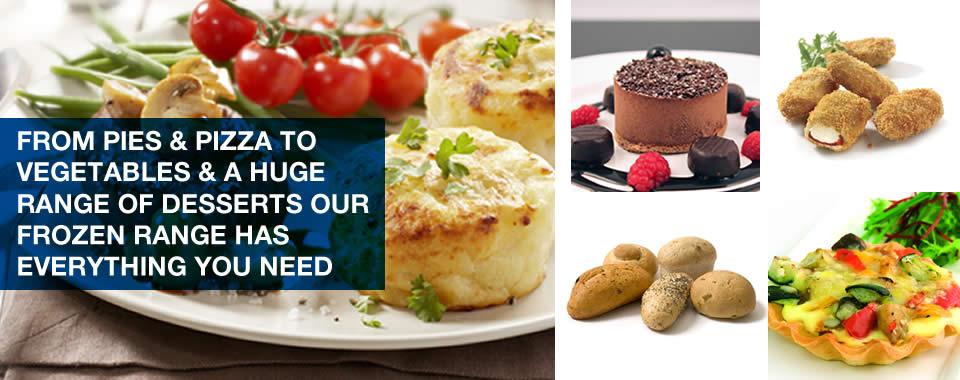 mkg foods frozen food range