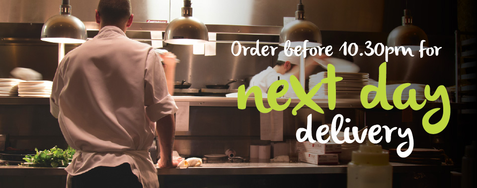 Order before 10:30 pm for next day delivery with MKG. Your foodservice partner in the Midlands.
