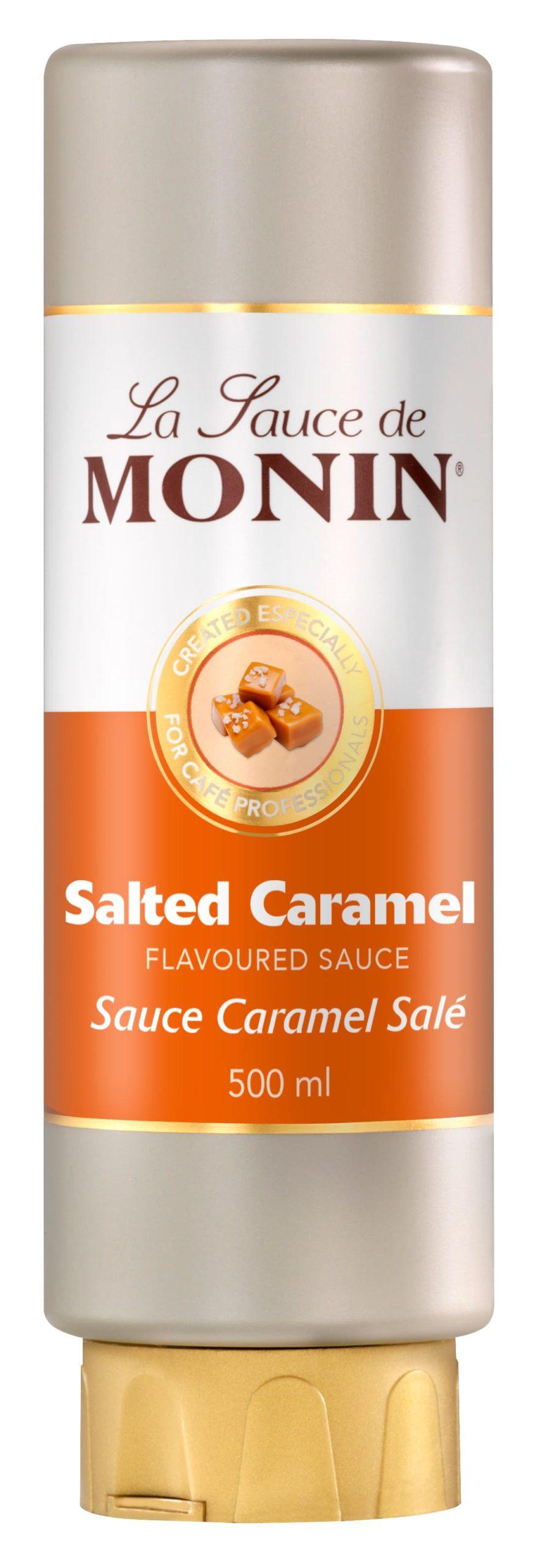 Monin Salted Caramel Sauce Mkg Foods