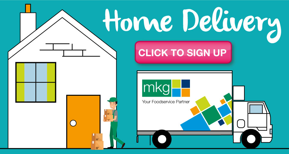 Home food delivery in the Midlands from MKG Foods.