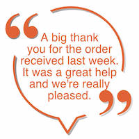 Home Delivery testimonial - graphic 3