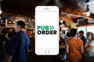 Pub Order - table ordering app for iOS and Android by MKG.