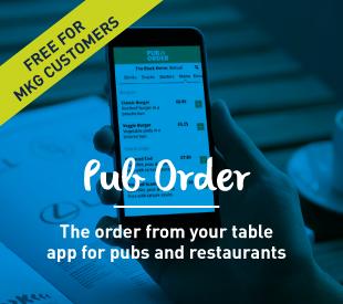 Pub Order homepage graphic