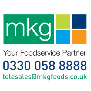 mkg foods phone number and email square graphic