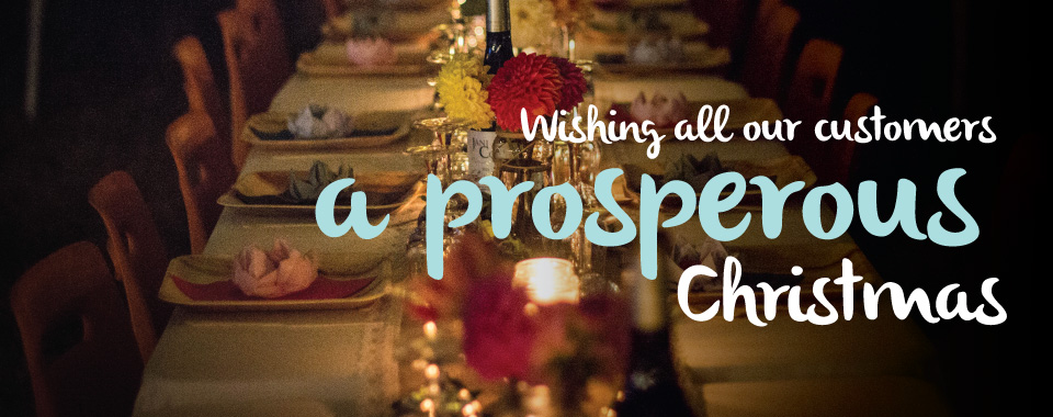 Wishing all our customers a prosperous christmas
