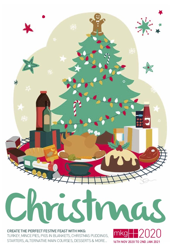 MKG Christmas Brochure 2020 Cover image