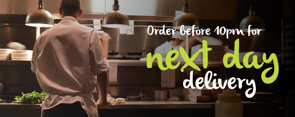 Order before 10:00 pm for next day delivery with MKG. Your foodservice partner in the Midlands.