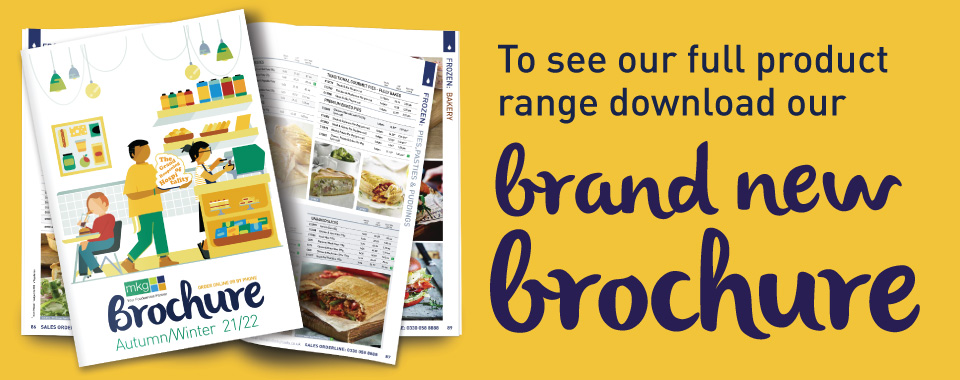 Brand New MKG Foods Brochure graphic